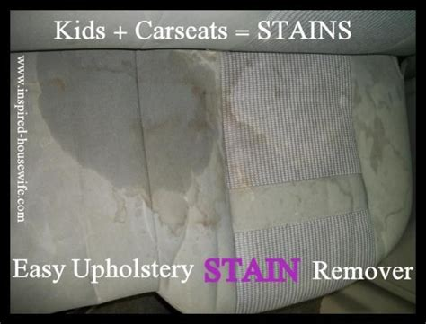 Best Stain Remover For Car Interior by 17 Best Ideas About Car Upholstery Cleaner On