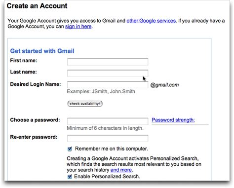 gmail new account create in mobile open a gmail account computer for dummy