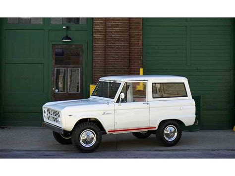 1966 Ford Bronco For Sale by 1966 Ford Bronco For Sale Classiccars Cc 979027