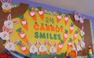 Awning In A Sentence 24 Carrot Smiles Easter Bulletin Board
