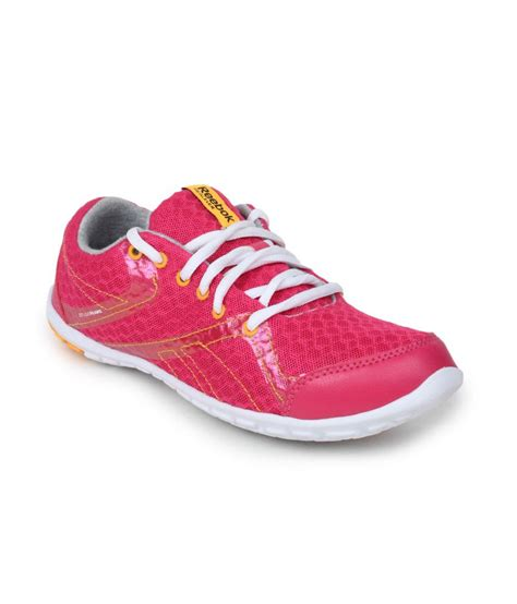 pink sport shoes reebok pink sport shoes price in india buy reebok pink