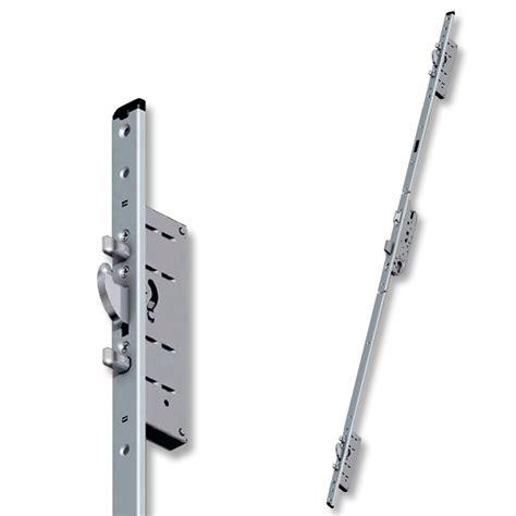 serratura porta alluminio serratura multipunto gancio e 2 punzoni acciaio porte
