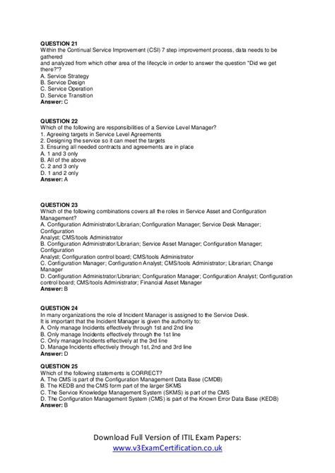 itil logo for resume donna novak resume itil foundation certification sle question papers