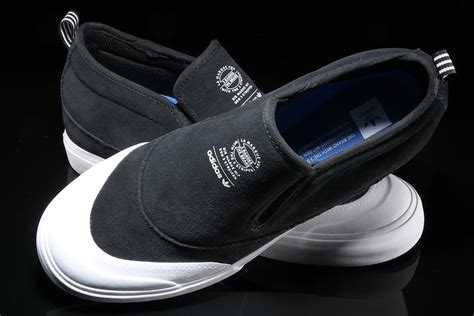 Adidas Slip On Suede adidas matchcourt mid slip on black suede now available