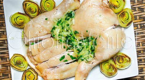 cucina asiatica ricette cucina asiatica pollo al vapore con l olio e cipollina o