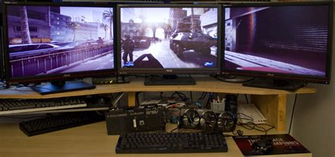 Pc Gaming 3 Monitor screen gaming on today s graphics cards the tech
