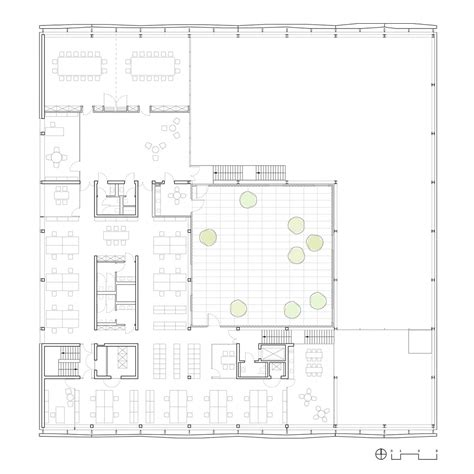 prototype a14s first floor plan barkow leibinger