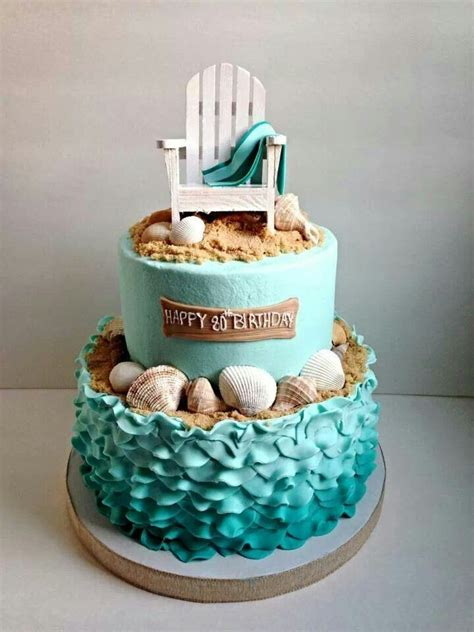 beach themed birthday cakes 17 best images about cakes seashore nautical on pinterest
