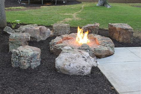 firepit rocks gallery the rock place