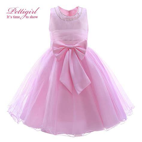 chik dress dress 2016 summer fashion pink big bow