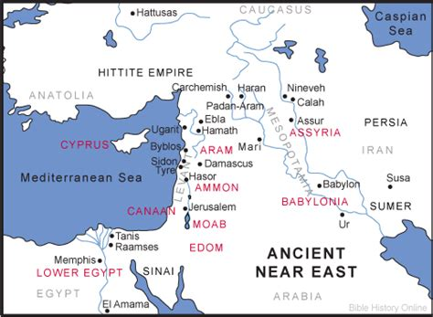 middle east map ancient civilizations map of the ancient near east bible history