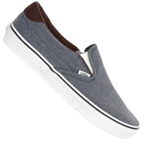 Slopper Canvas vans u classic slip on vsfo7er canvas navy sport
