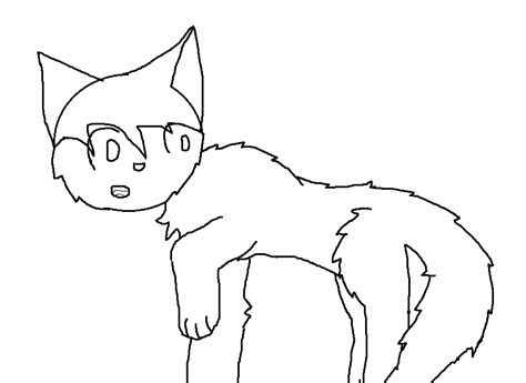 Two Cats Outline by Cat Outline By Halobramblestar On Deviantart