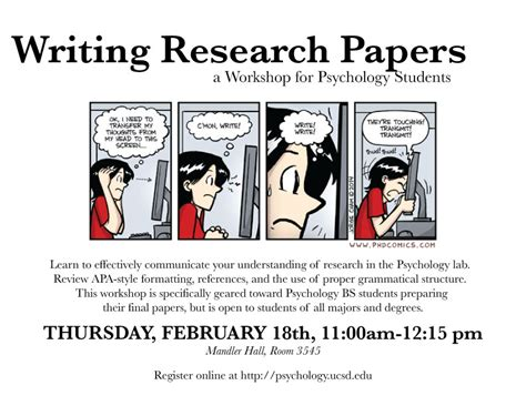 Ucsd Program Mba Psychology by Apa Research Paper Buying