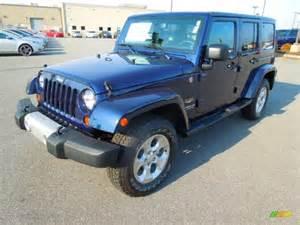 Pearl Jeep 2013 True Blue Pearl Jeep Wrangler Unlimited 4x4