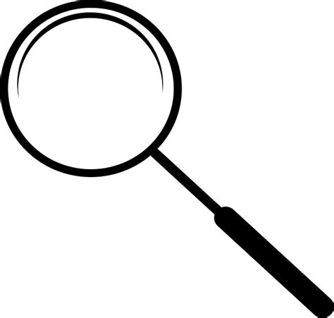 Kaca Pembesar Loupe Magnifying Glass Magnifier Lens free vector graphic glass magnifier search free image