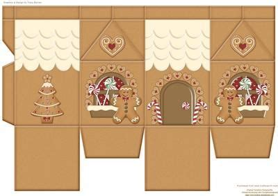 gingerbread house card template gingerbread house milk on craftsuprint designed by