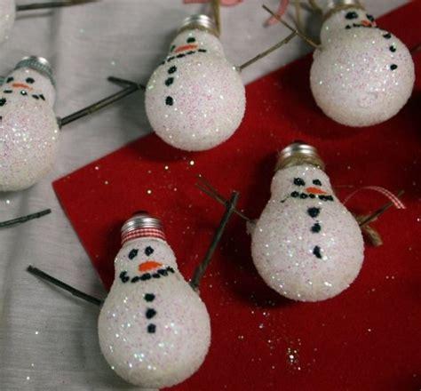 light bulb snowman praktic ideas  find fun art projects