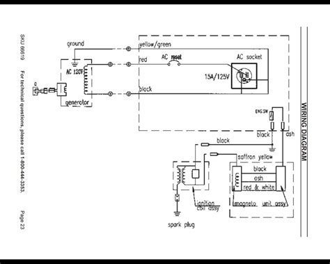 portable generator wiring diagram portable free engine