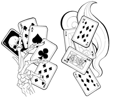 best 25 playing card tattoos ideas on pinterest card