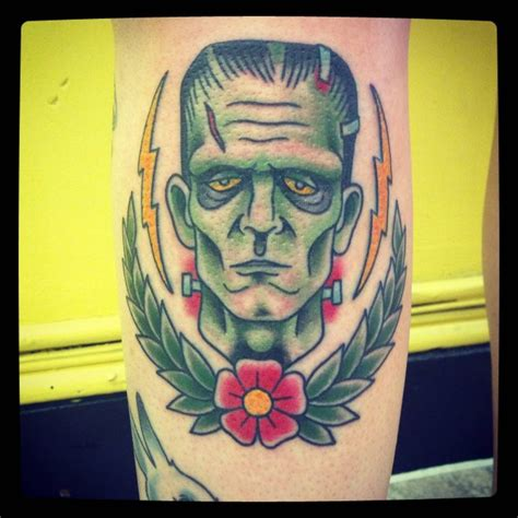 frankenstein tattoos frankenstein in traditional brian hemming