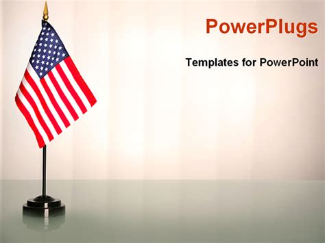 american powerpoint templates powerpoint template an american flag with white