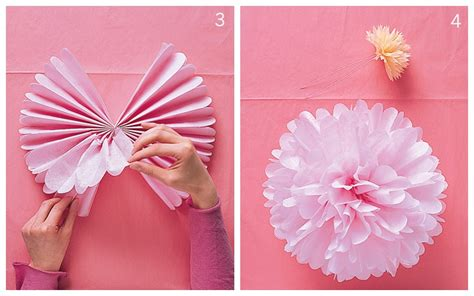 How To Make Large Paper Pom Poms - how to make pom poms for your wedding