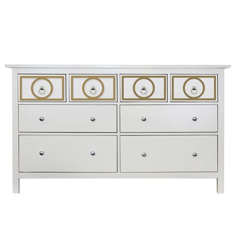 Hemnes 8 Drawer Dresser Assembly by O Verlays Gracie Kit For Hemnes 8 Drawer Dresser