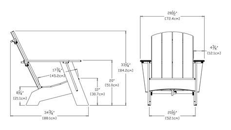 Modern adirondack chair loll designs