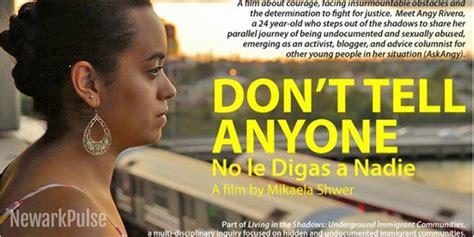 film don t tell anyone film screening don t tell anyone newark pulse newark nj