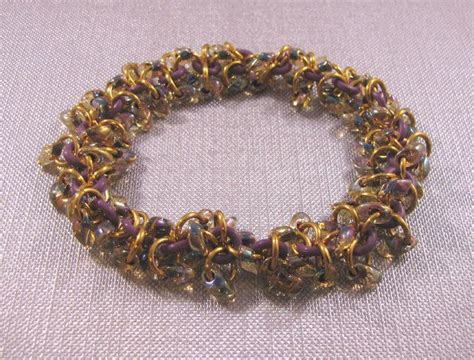Cevron Amethyst With Loop 85 best chain maille rubber images on new