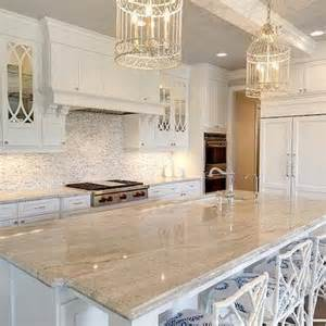 White Kitchen Cabinets With White Marble Countertops Eclipse Mullion Kitchen Cabinets Design Ideas