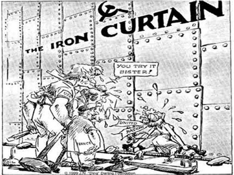 iron curtain in cold war origins of the cold war