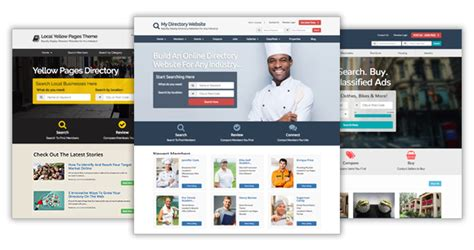 business directory layout design website directory designs website layouts for business