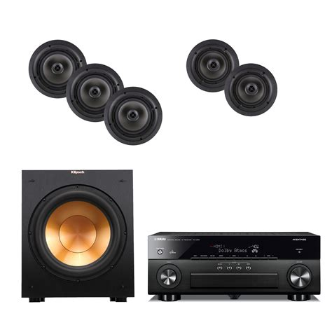 klipsch cdt 2800 c ii in ceiling home theater package