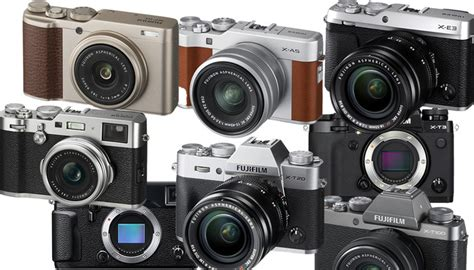 best fujifilm x series a breakdown of the many models of the fujifilm x