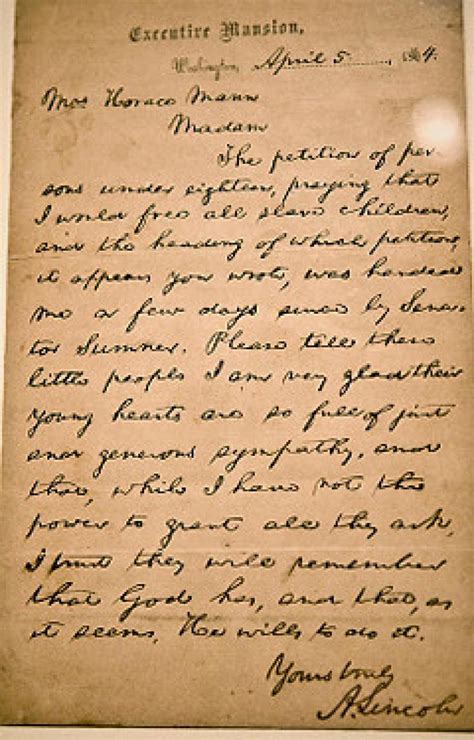 abraham lincoln letter to the letter from abraham lincoln to be auctioned in new york