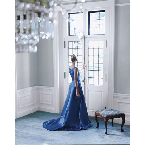 ralph lauren saltaire walls  blue carpet interiors