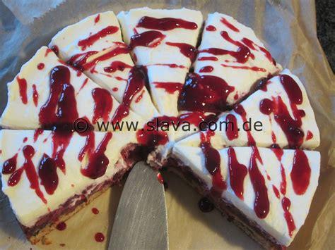 schnelle backrezepte kuchen schnelle saftige schoko kirsch nuss torte kuchen mit