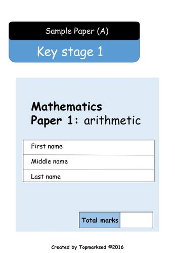 new year 2016 story ks2 2016 ks1 maths paper 1 arithmetic questions and answers