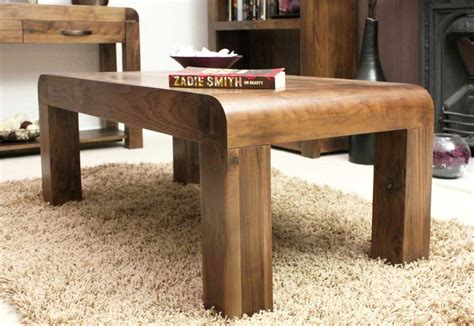 solid wood coffee table for your beloved room