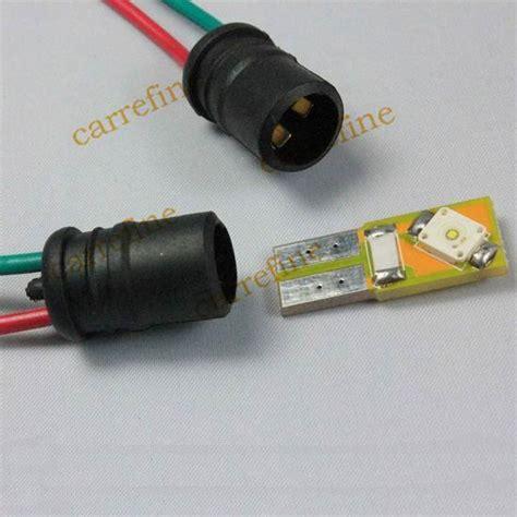T10 Sockel by 2017 T10 Socket Led T10 W5w 194 5050 Bulb Light L Cable Adaptors Holder Socket From