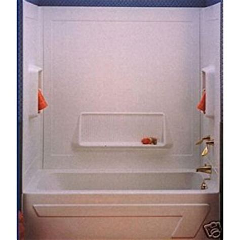 one piece bathtub with surround one piece bathtub surround 171 bathroom design