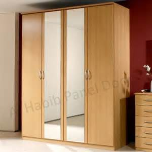Looking For Wardrobes Four Doors Wardrobe With Looking Glass Hpd517 Free
