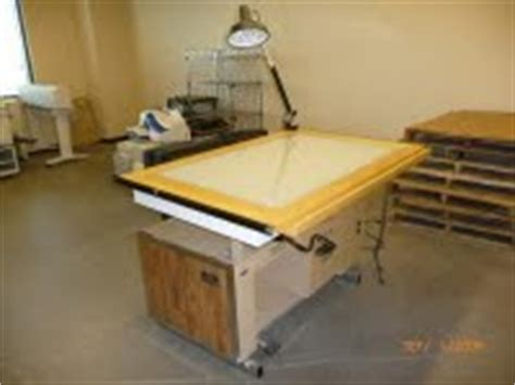 mayline desk o matic metal drafting table government auctions