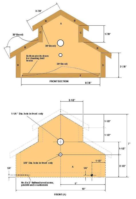 birdhouse plans beginners  woodworking