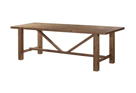 alfresco rustic dining table home staging furniture