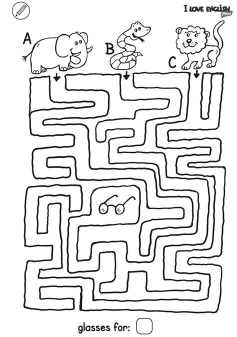 love english mini labyrinth brille