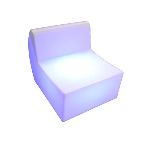 led couch led sofa hire illuminated seating in leicester nationwide