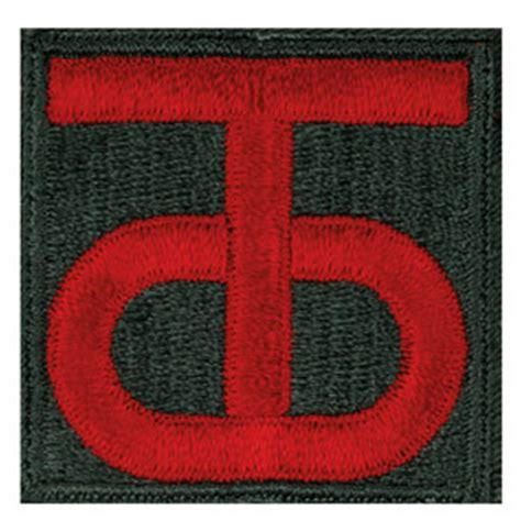 90th Sustainment Brigade / 90th Division Patch   Medals of America